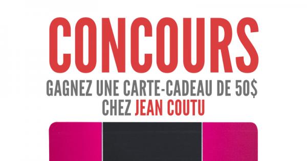 Concours Gagnez une Carte-Cadeau de 50 $ chez Jean Coutu