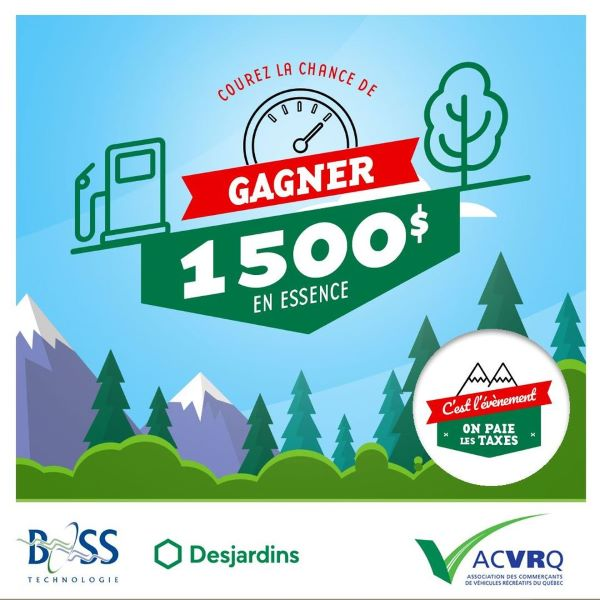 Concours Gagnez 1500$ en cartes-cadeaux ESSO!
