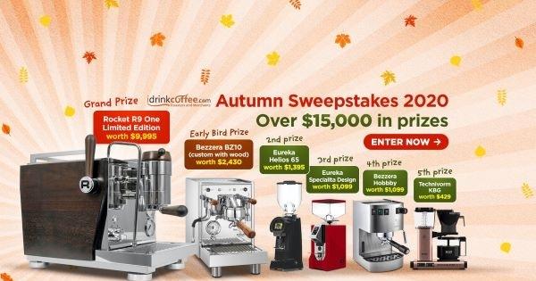 Concours d'automne d'iDrinkCoffee 2020!