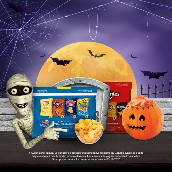 Concours Fêtez l'Halloween à la maison!