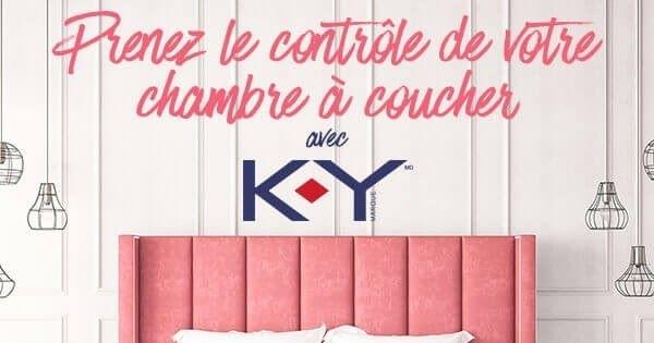 Concours Prenez le contrôle de votre chambre à coucher avec K-Y!