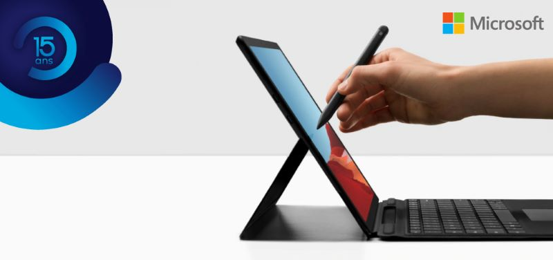 Concours Gagnez la puissante Surface Pro X de Microsoft et son ensemble clavier/crayon signature!