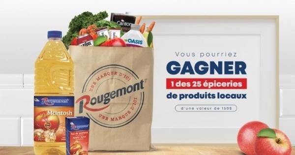 Concours GAGNEZ UNE ÉPICERIE DE PRODUITS LOCAUX!