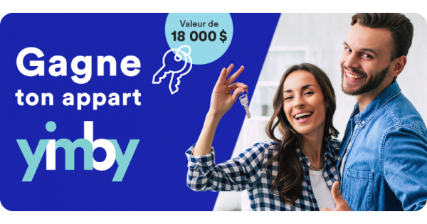 Concours Gagne ta location YIMBY!