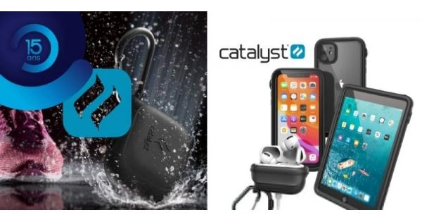 Concours Gagnez des étuis Catalyst pour vos produits Apple et protégez-les des chutes et de l'eau!