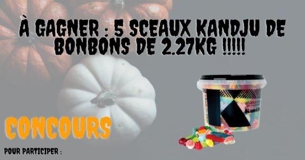 Concours Gagnez l'un des 5 sceaux de bonbon KandJu!