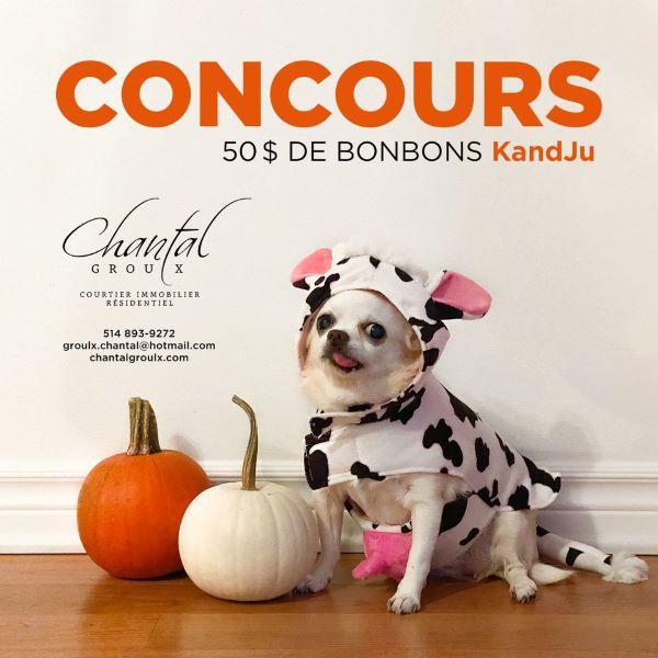 Concours Gagnez 50 $ de bonbons chez KandJu!