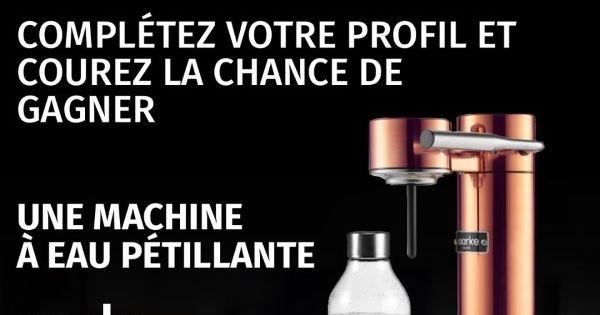 Concours Gagnez une machine à eau pétillante AARKE!