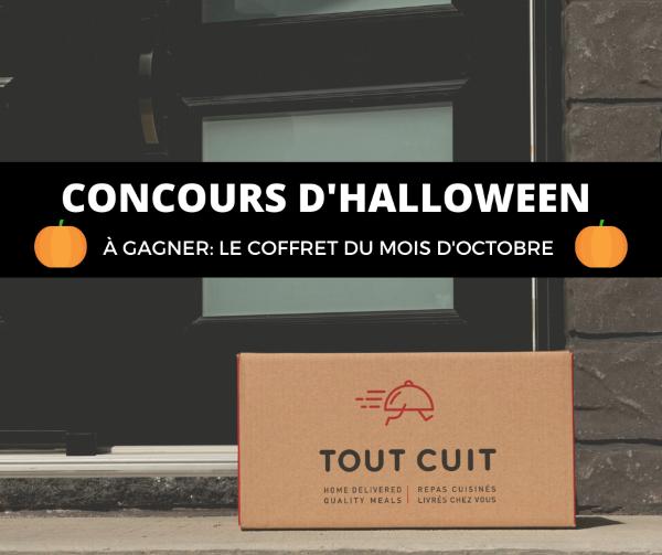 Concours Gagnez le coffret Tout cuit du mois d'Octobre!