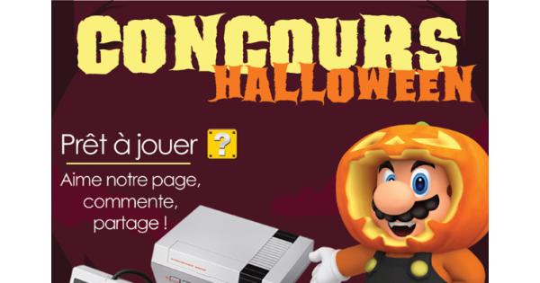 Concours Gagnez une console MINI NES et 500 jeux!
