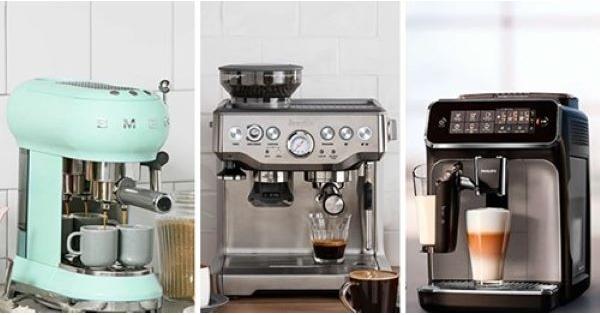 Concours Gagnez une des 3 machines à café expresso!