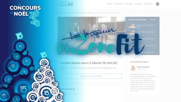 Concours Gagnez l'un des deux abonnements à Ma Zone Fit, le programme numérique de Josée Lavigueur!