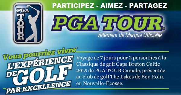 Concours Gagnez un voyage de Golf en Nouvelle-Écosse