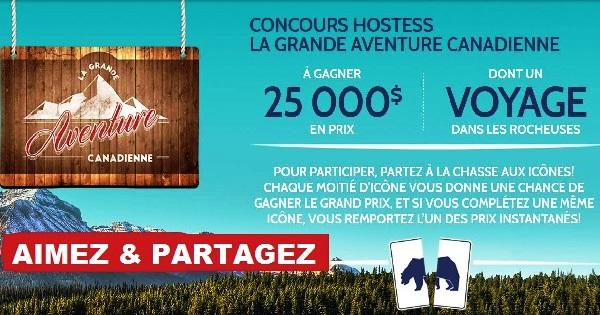Concours Hostess La Grande Aventure Canadienne!