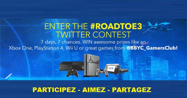 Concours Gagnez un Xbox, Un playstation ou un 3ds XL