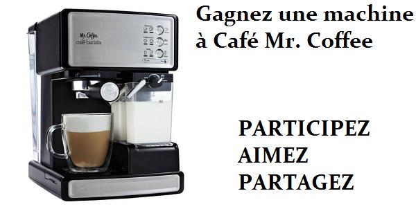 Concours Gagnez une machine à Café