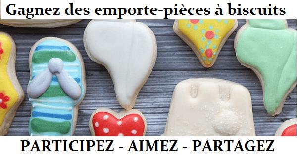Concours Gagnez un ensemble d'emporte-pièces à biscuits