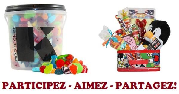 Concours Gagnez 5 lb de bonbons et une boîte à lunch Vintage remplie de confiseries variées!