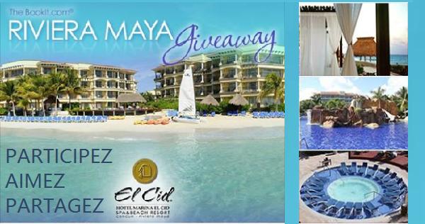 Concours Gagnez un voyage à Riviera Maya