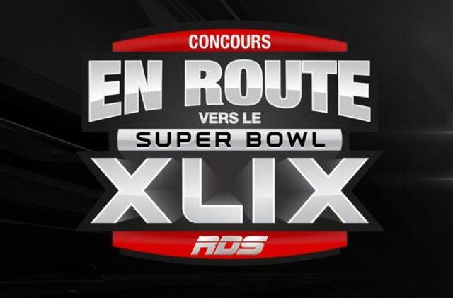 Concours En route vers le Super Bowl XLIX