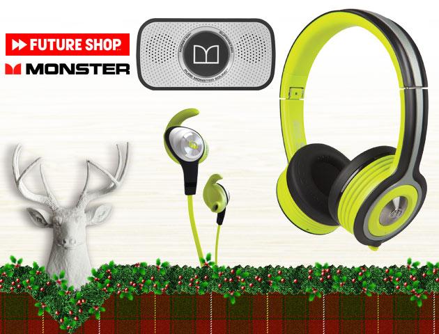 Concours Gagnez trois produits Monster parfaits pour les amateurs de musique