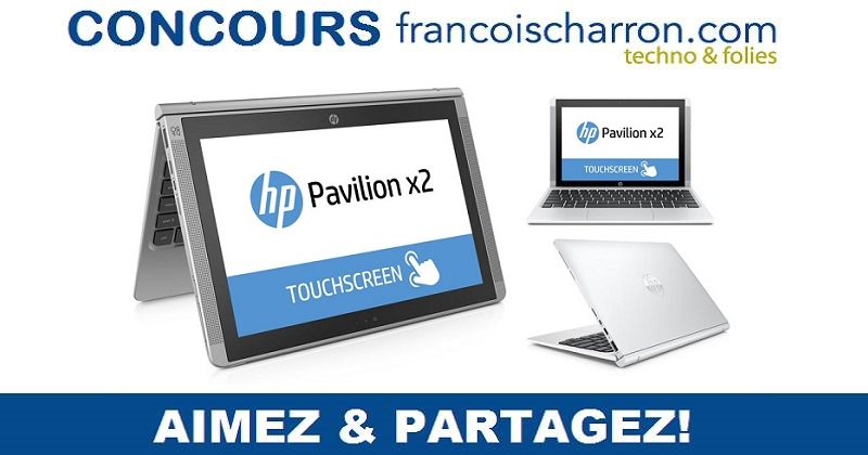 Concours Gagnez l'appareil 2-en-1 HP Pavilion x2!