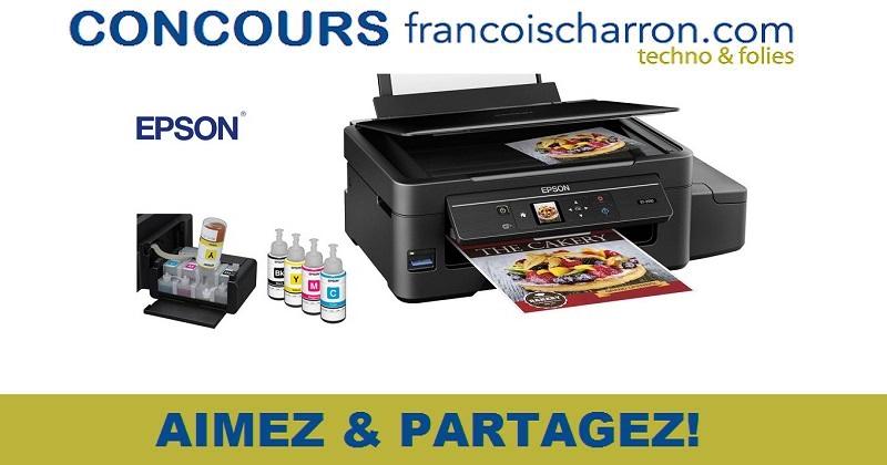 Concours Gagnez une imprimante Epson de la gamme EcoTank!