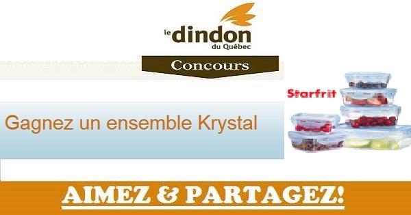 Concours Gagnez un ensemble Krystal!