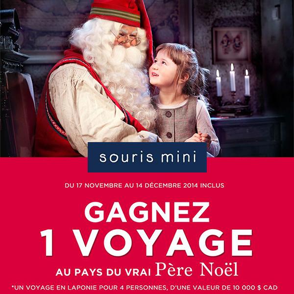 Concours Un Voyage au Pays du vrai Père Noël
