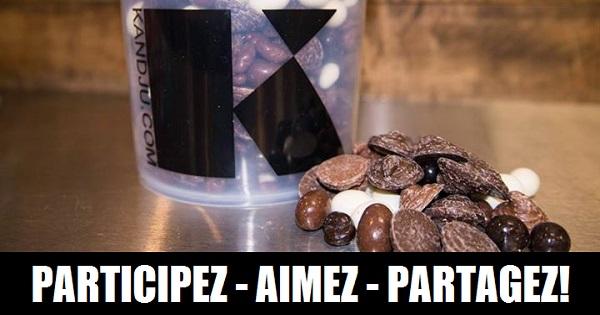 Concours Gagnez un seau 4 lb de mixte chocolaté KandJu!