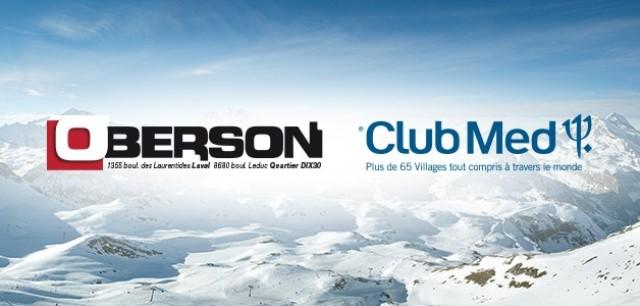 Concours Gagnez un voyage de ski au Club Med