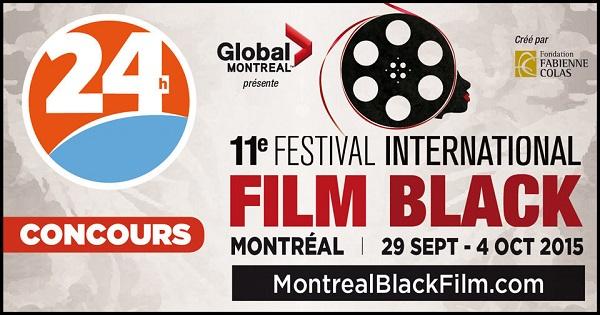 Concours Gagnez 1 carte OR donnant accès à tous les films du 11e festival international FILM BLACK!