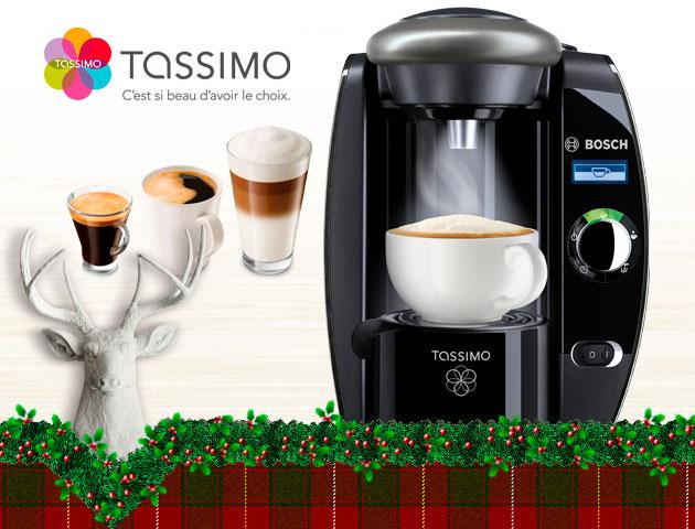 Concours Gagnez l'une des deux machines à café Tassimo