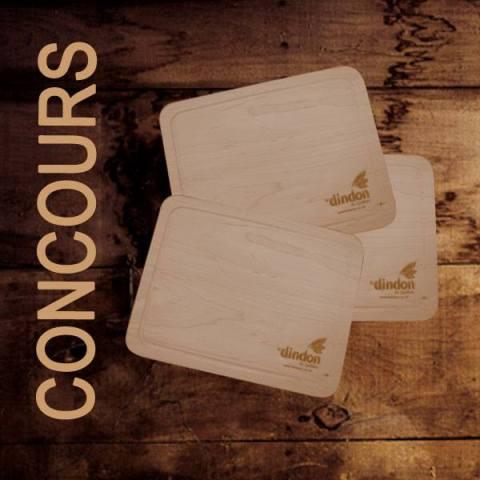 Concours Gagnez une planche à découper en bois!