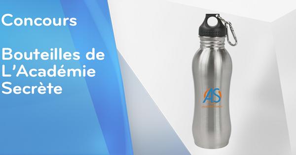 Concours Gagnez une bouteille de L'Académie Secrète!