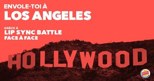Concours Gagnez un voyage pour deux personnes à Los Angeles!