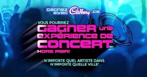 Concours Gagnez un voyage VIP pour 2 personnes au Canada ou aux États-Unis pour assister à un concert d'un artiste de Universal Music!