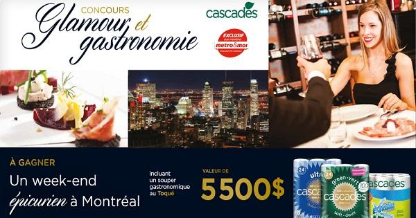 Carte Cadeau Restaurant Montreal.Concours Gagnez Un Sejour Gastronomique A Montreal Et Une