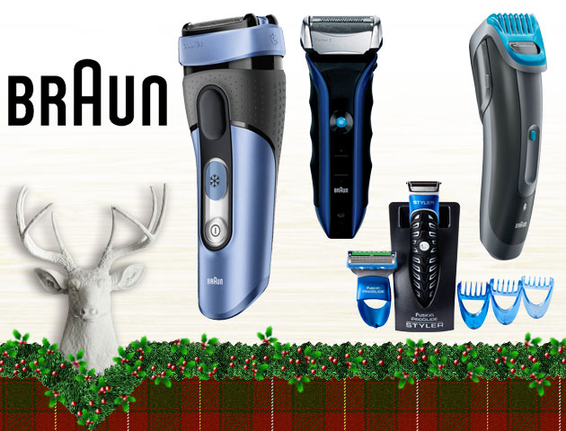 Concours Gagnez l'un des deux ensembles de rasoirs électriques Braun!