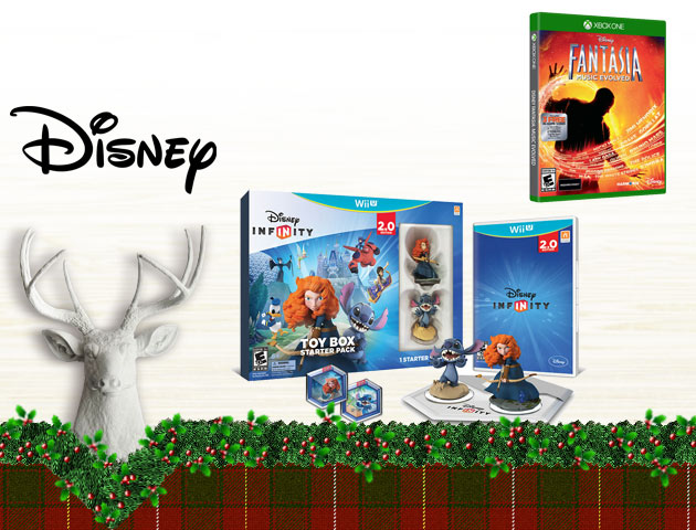 Concours Gagnez l'un des quatre ensembles-cadeaux Disney avec jeux vidéo