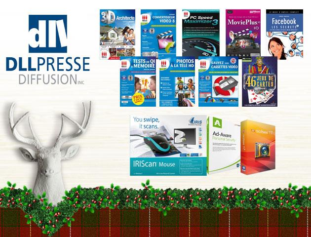 Concours Gagnez l'un des deux paniers-cadeaux comprenant plusieurs logiciels et jeux pour PC!