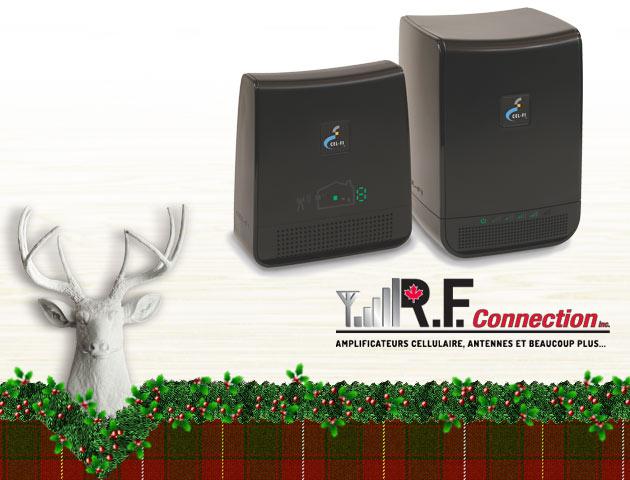 Concours Gagnez un amplificateur de signal Cel-Fi pour cellulaire!