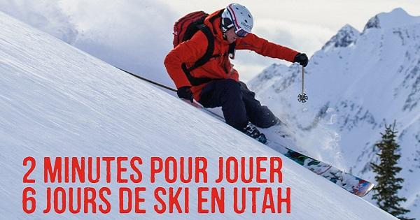 Concours Gagnez un voyage de ski et des vêtements d'hiver de la tête aux pieds!
