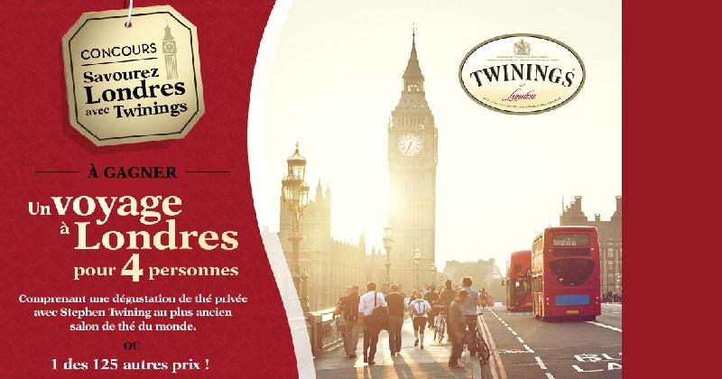 Concours Gagnez un voyage à Londres pour 4 personnes!