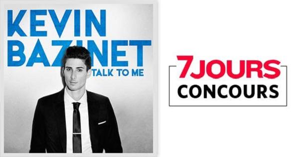 Concours Gagnez l'album Talk to me, autographié, de Kevin Bazinet!