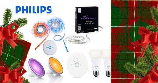 Concours Gagnez deux luminaires Philips et des appliqués LightStrips!