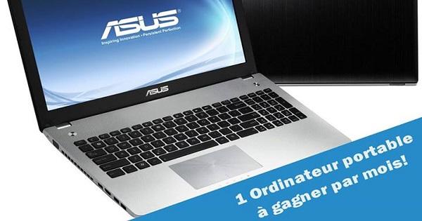 Concours Gagnez un portable ASUS!