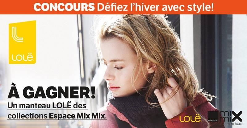 Concours Gagnez un manteau de marque Ookpik ou un manteau de marque LOLË!