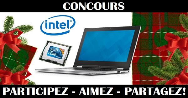 Concours Gagnez un ordinateur portable!