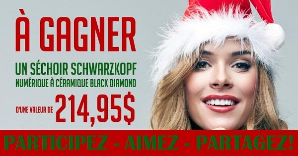 Concours Gagnez Un Sechoir Schwarzkopf Concours En Ligne Quebec